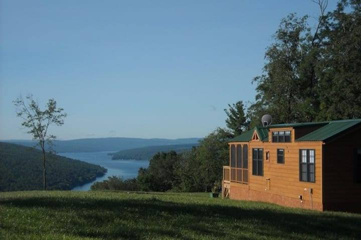 Bluff Point of View Cabin Rentals, The Keuka