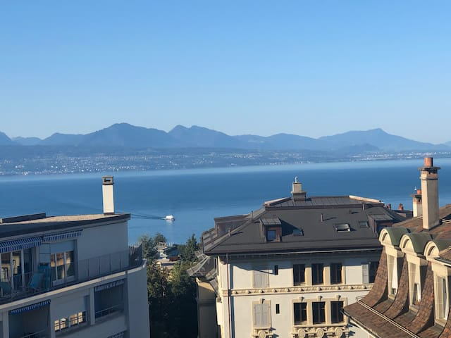 Executif Appartement au centre de Lausanne