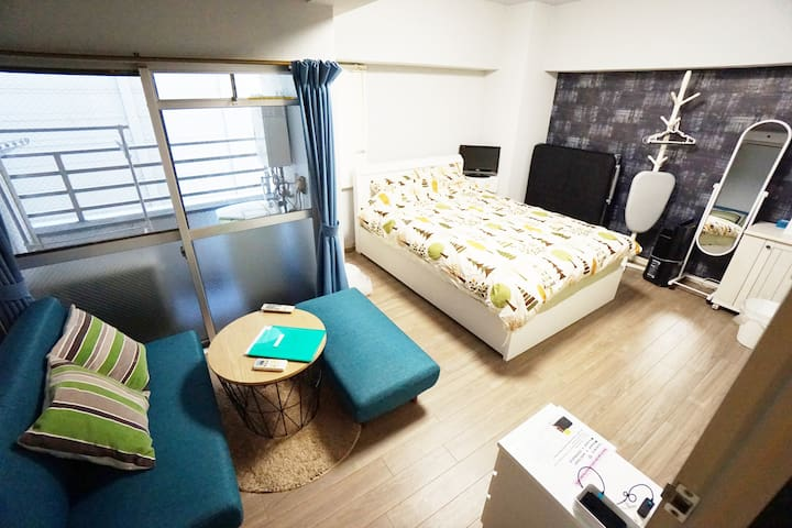 #21★Direct to airport|Namba|Wi-Fi|cool space