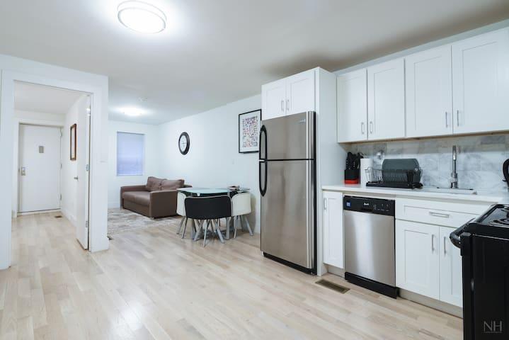 Cozy All New 2BR/2BA In Upper Manhattan Sleep 7 - New York - Lägenhet