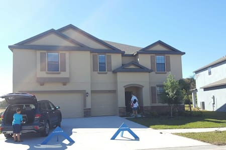 Large new house, 4k sqft, 6br, 4bath, near Tampa