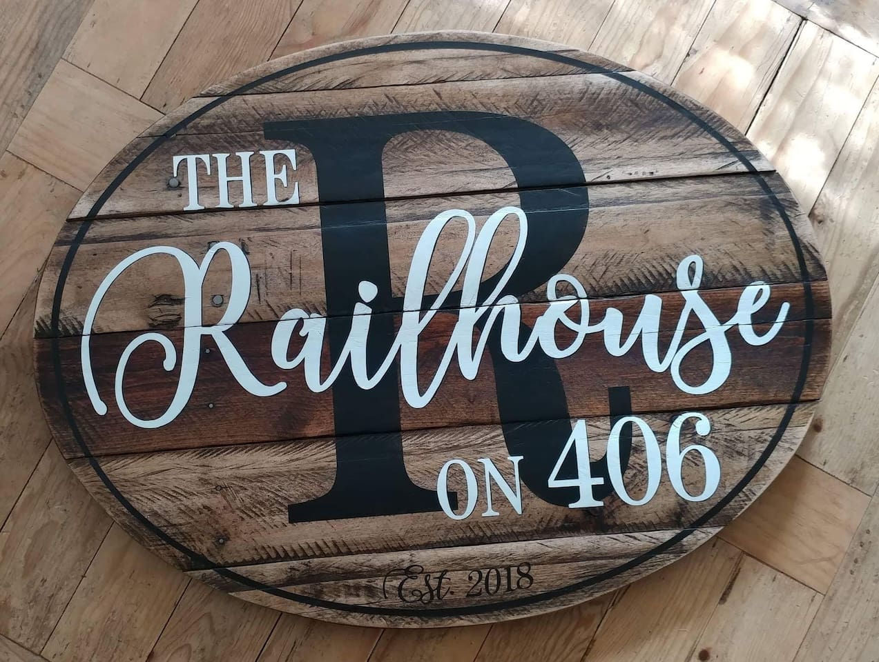 "Welcome To ""The Rail House"""