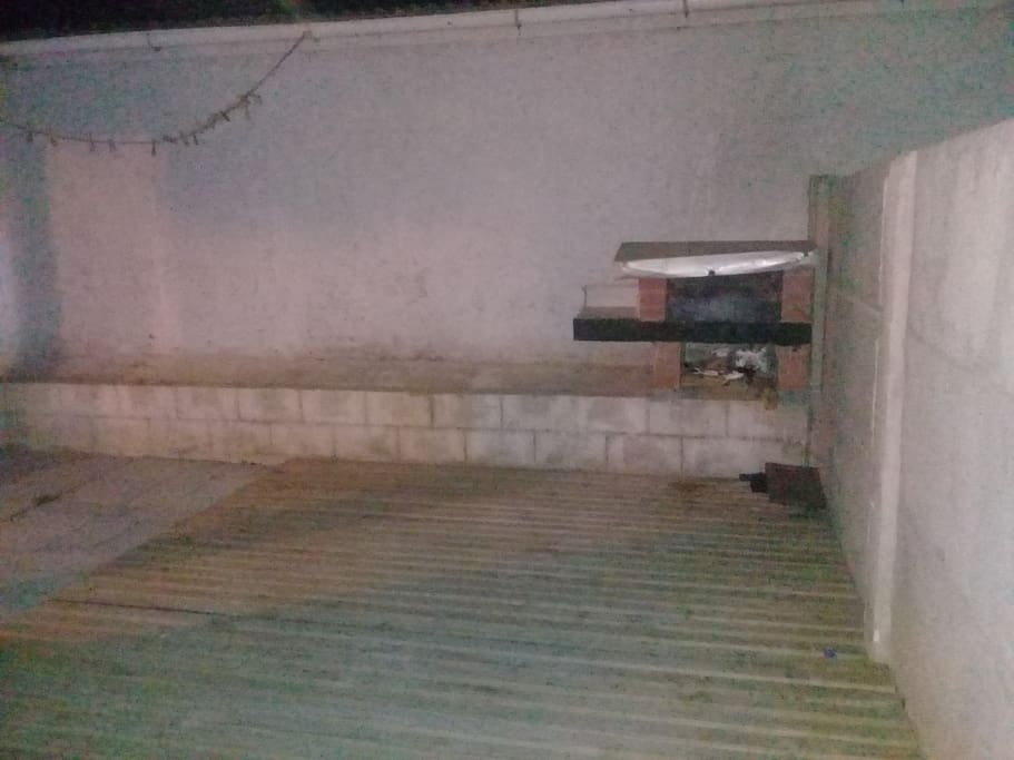 Ideal para realizar asados en el patio