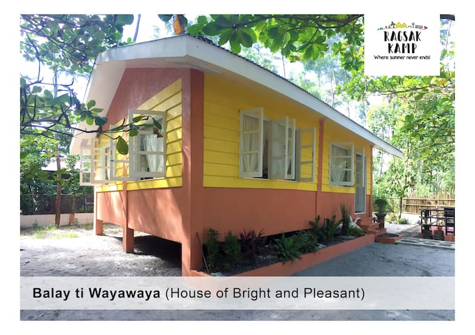 Balay ti Wayawaya (House of Bright and Pleasant) Whole House price ₱7,000.