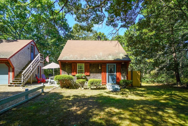 Relaxing Private Woodland Getaway in West Tisbury