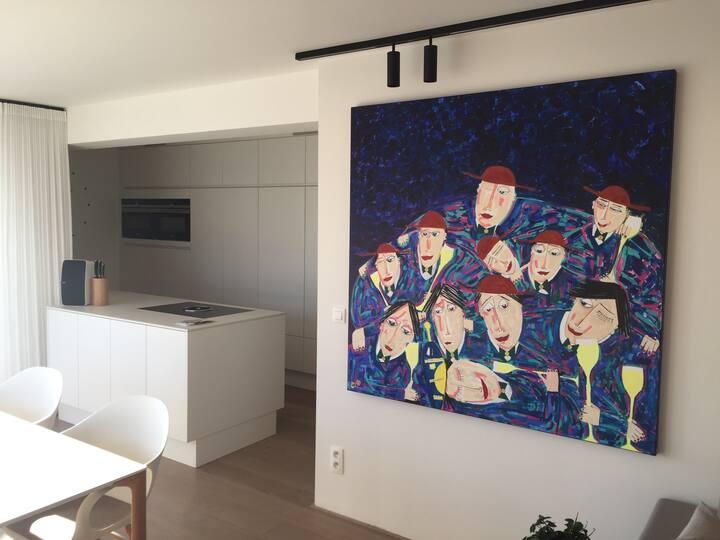 Appartement op toplocatie in Diest
