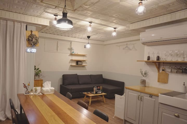 [파티/모임] Dugout _ Cozy Private house @Hongdae