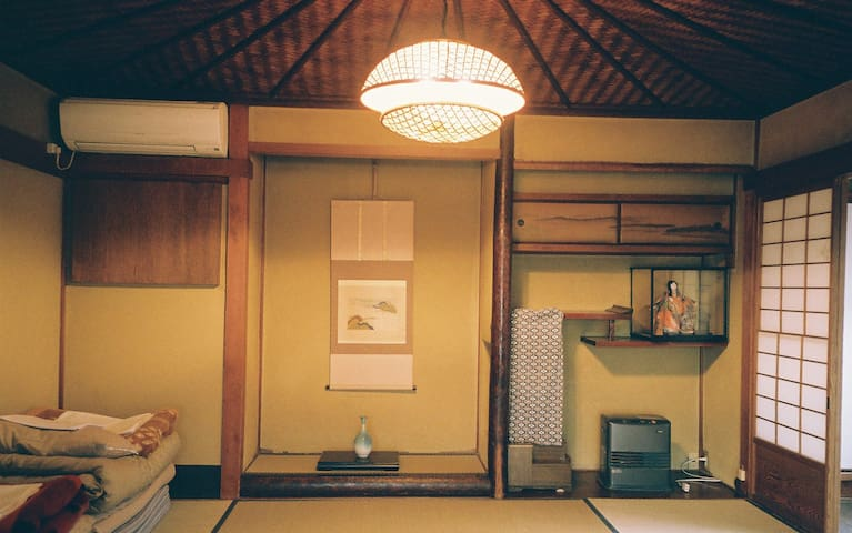 Triple room in Japanese antique house