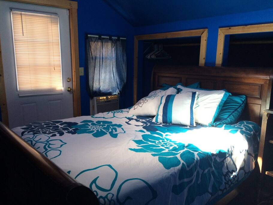 """second bedroom """"The Blue Room"""""""