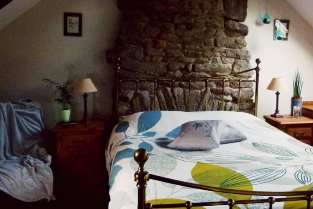 La chambre Passiflore dans la maison d'hôtes