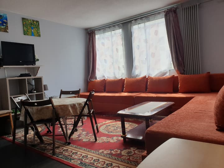 Full equipped flat by Bourget & Paris CDG Airport