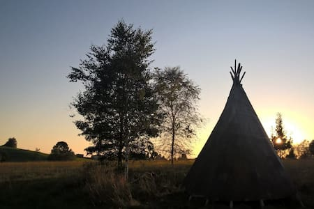 """INDIAN SUMMER""  TIPI - Kißlegg"
