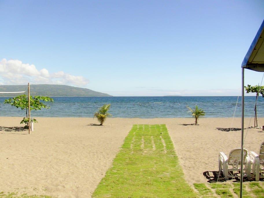 A nice beachfront !!!