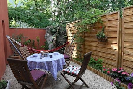 Très beau duplex 50 m2+jardin au milieu des arbres