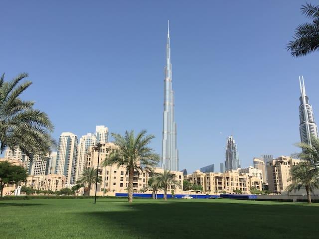 spatious Apptmnt in Downtown burj khalifa (3 pax) - Dubai - Byt