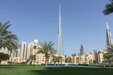 spatious Apptmnt in Downtown burj khalifa (3 pax) - ดูไบ - อพาร์ทเมนท์