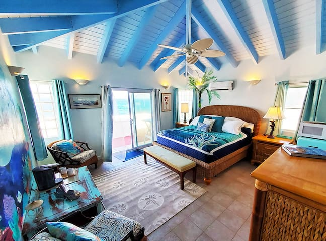 Dolphin Room Coral's Edge Bed & Breakfast St Croix