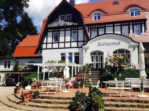 Romantische Fewo Sachsenhof 2
