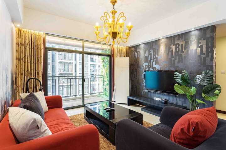南坪万达广场 现代两居室Nanping Wanda Plaza Modern two-bedroom