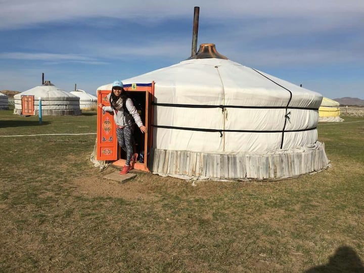 Traditional ger for your Mongolian stay experience