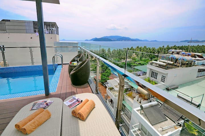 Modern double room near the beach@Apollo***hotel