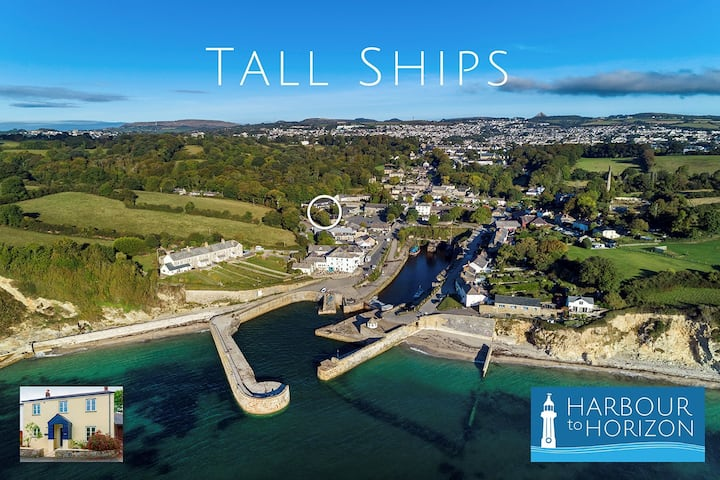 Tall Ships, Charlestown - two ticks from harbour