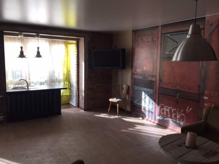 Уютная студия площадью 35,5 кв. м.