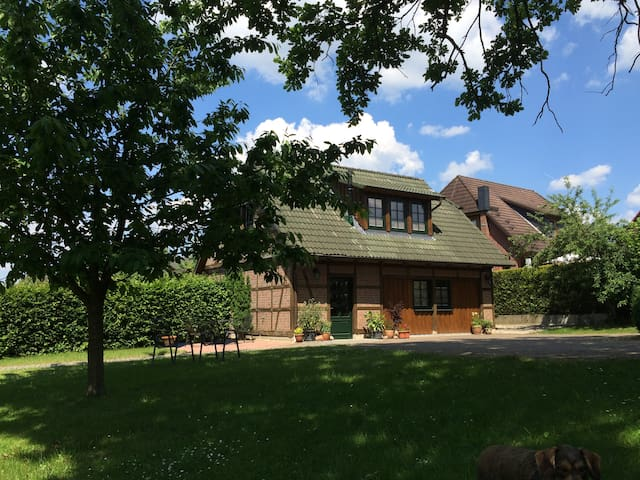 Ferienwohnung im Heidekreis - Bomlitz - Apto. en complejo residencial