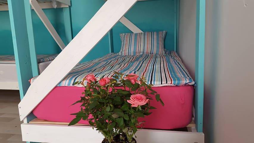 8 Bed Dormitory -  Vampire Beach Hostel - Vama Veche - Makuusali