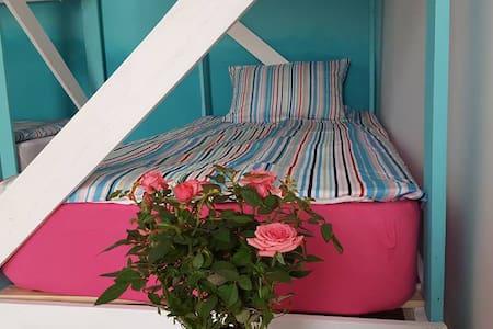 8 Bed Dormitory -  Vampire Beach Hostel - Slaapzaal