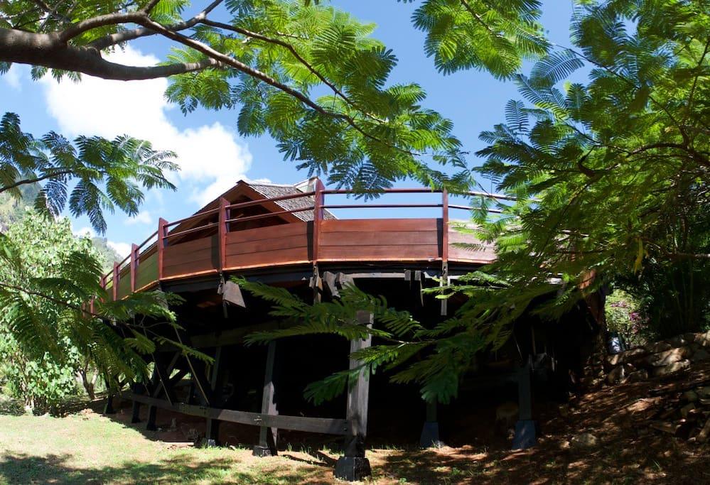 Le deck entièrement rénové