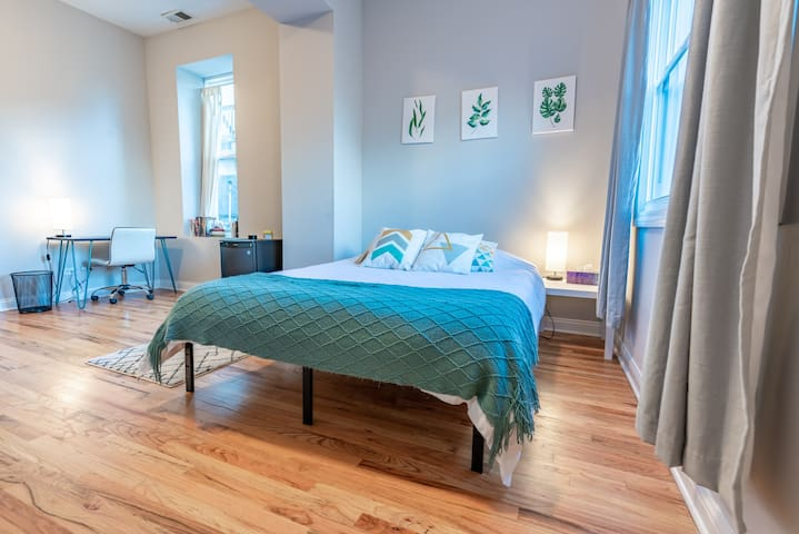 Bright and Spacious Master Suite in Humboldt Park