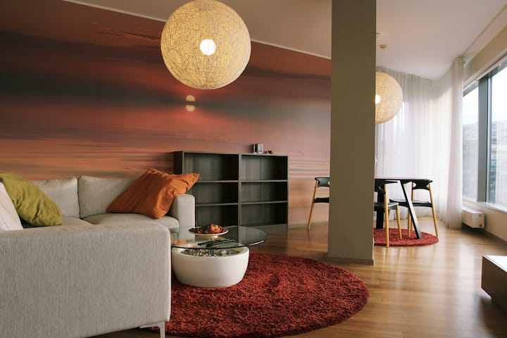 Spacious apartment in centre with an Old town view