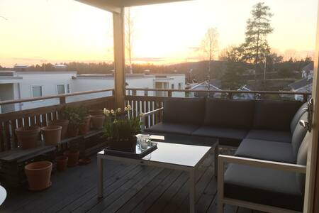 Room in a nice apartment in Son - Vestby - 아파트