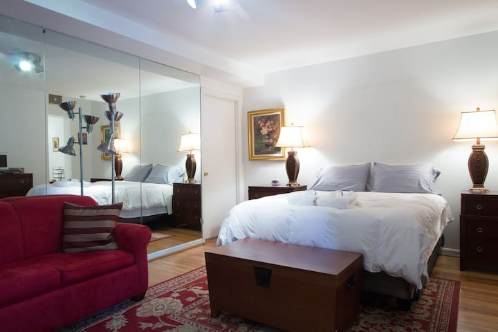 Large Studio Apt in Dupont Circle (R St/NH Ave NW)