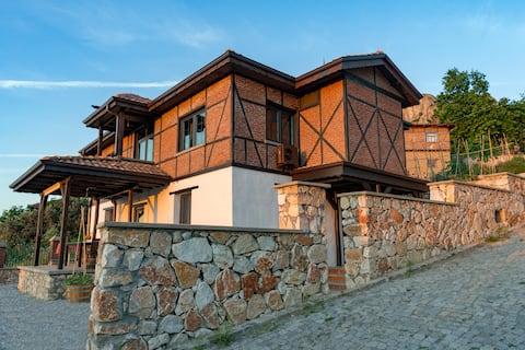 Όμορφη εξοχική κατοικία İznik με θέα στη λίμνη