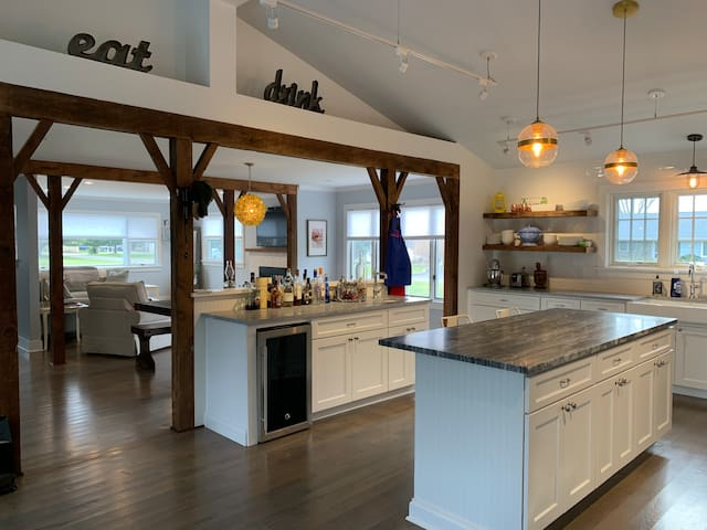 Greenport Beach House in Private Community