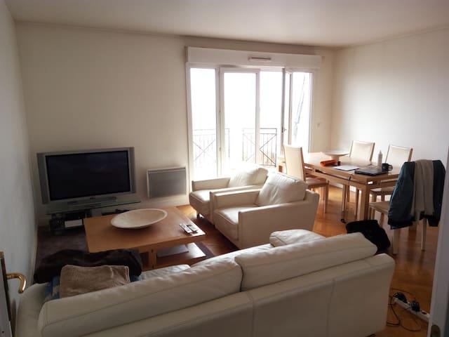 Bel appartement avec vue-3 Ch-2SDB-115m2-Nogent Ce - Nogent-sur-Marne - Lägenhet