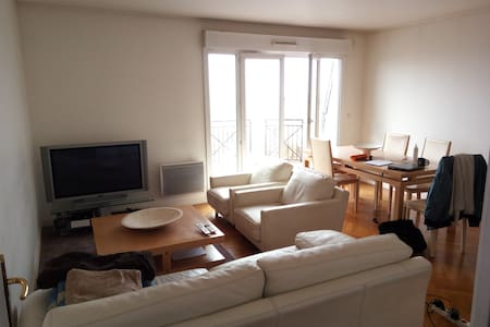 Bel appartement avec vue-3 Ch-2SDB-115m2-Nogent Ce - Nogent-sur-Marne - Apartmen