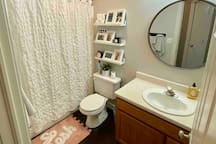 Private bathroom for only you.
