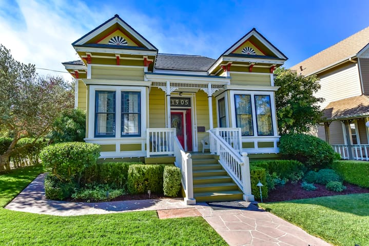 On The Vine - 3BR/2.5BA Downtown Paso Victorian