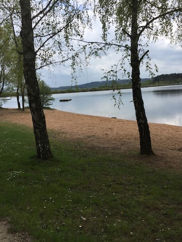 Strand am Brombachsee