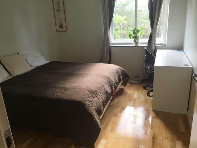 Beautiful room in a apartment Stockholm Bromma