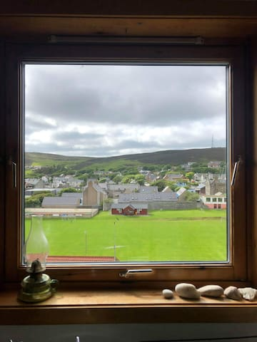 View from the kitchen window