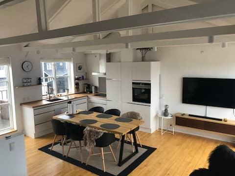 Luxury holiday apartment, 3 km from Ebeltoft