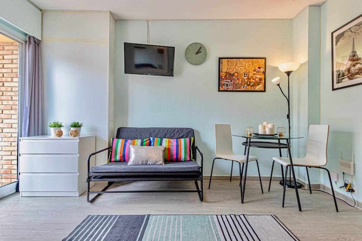 Comfortable studio in the center of Benalmadena.