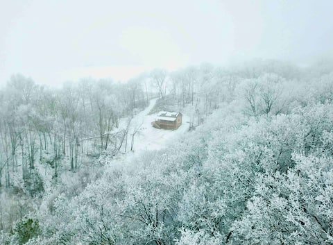 CABIN-Driftless Area-New Amish Built-Sidie Hollow