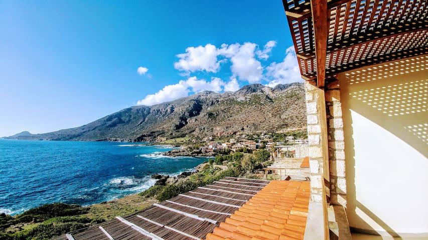 Nefeli's luxury suite on the sea * amazing sea view