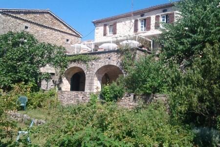 Gite de L'Auriol à Joannas Cevennes Ardechoises