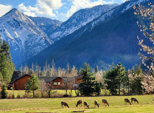 Leavenworth Home w/a view-Cottage Rm Close to town